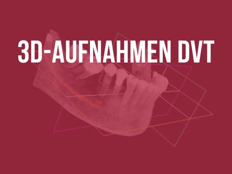 3D-RÖNTGENTECHNIK DVT